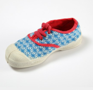 Bensimon kids sneakers + Bakker made with love = Beautiful!