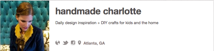Guest Pinner alert! Rachel Faucett of Handmade Charlotte