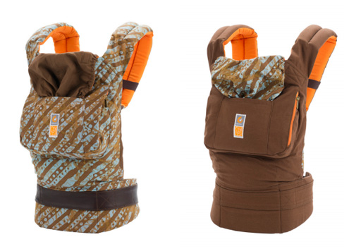 A new Ergo designed by Christy Turlington helps moms in need