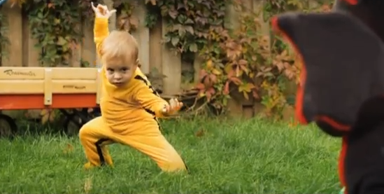 Web Coolness: Kung Fu toddler, NYC Marathon aid, and lying about lice