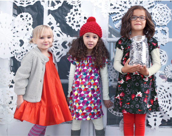 Tea Collection's new holiday fashions = major kiddo cuteness