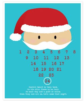 Christmas is coming: better grab one of these six printable Advent calendars soon