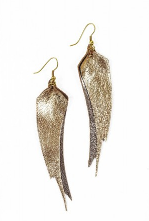 Party-perfect earrings with a big purpose