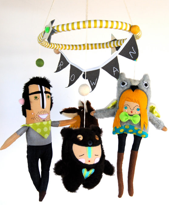 Handmade crib mobiles for those looking for something a little…different