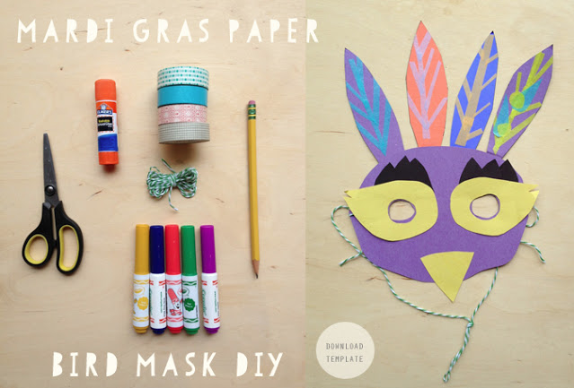 Celebrate Mardi Gras at home with these great DIY masks for kids