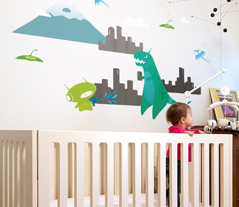 Dino-mite dinosaur decals for your wall