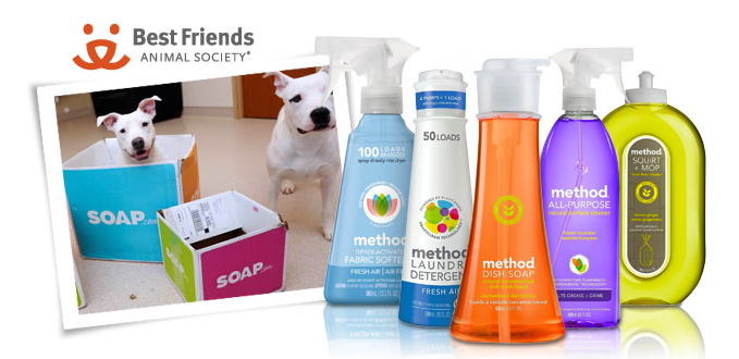 Stock up on soap from method and save cute animals. We like!