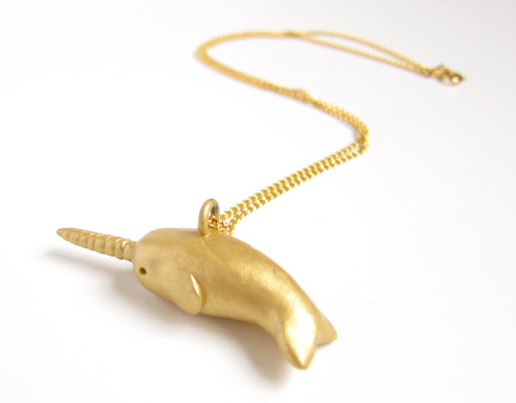 Nice narwhal necklace!