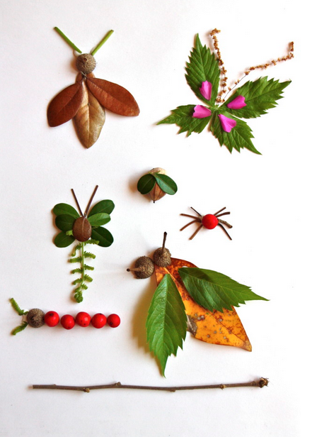 Web Coolness: Leafy critter crafts, baby shower ideas, and Amy Poehler's Smart Girls