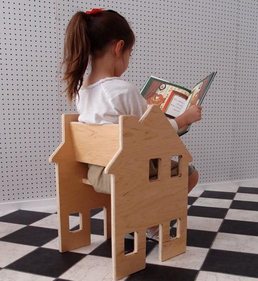 It's a chair! It's a dollhouse! It's genius!