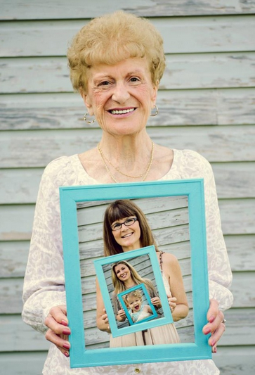 Web Coolness: Happy Mother's Day for grandma too, modeling joy, and getting in the picture