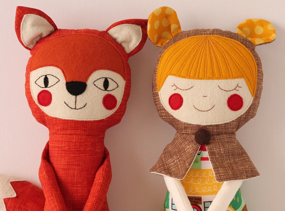 Your kid, the fairy tale star? Handmade personalized dolls we adore