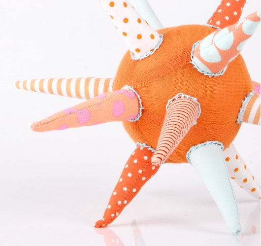 When you chomp upon a star: unique handmade teething toys