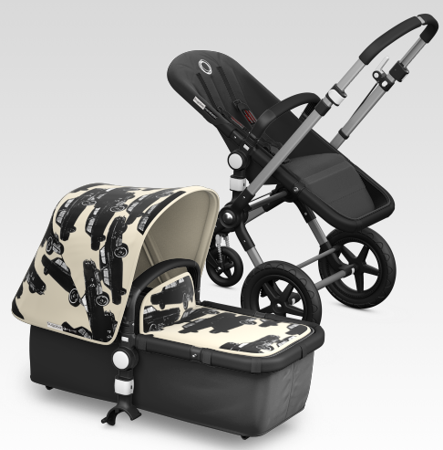 Warhol meets Bugaboo. And the fancy parents go wild.