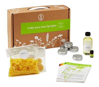 I want to smooch this all-natural DIY lip balm kit