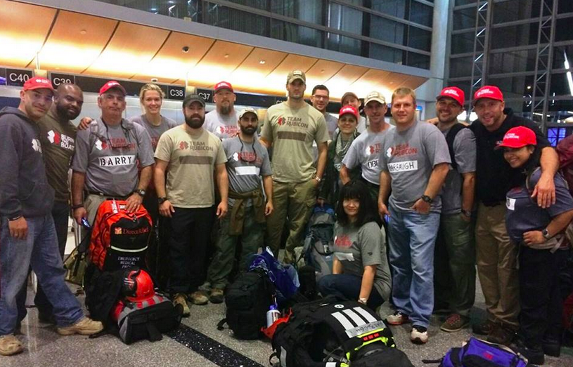 Celebrate Veteran's Day by helping the people of the Philippines with Team Rubicon