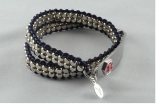 Medic alert bracelets that keep you safe and stylish