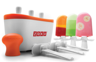 Gourmet popsicles in under 10 minutes