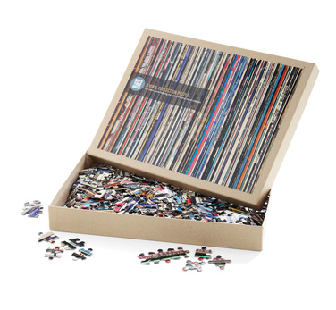 I'm just trying to do my jig-saw puzzle…
