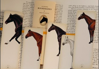 Bookmarks. For people who still read real books.