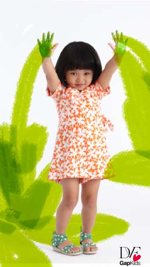 Diane von Furstenberg for GapKids launches today, and we swoon