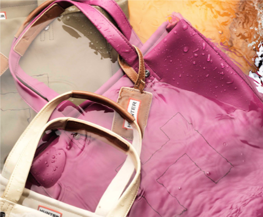 April showers bring a good excuse to shop online for Hunter boots and bags. Yes, bags!