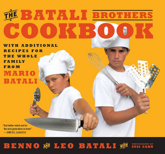 A Batali cookbook. From a different Batali, or two.