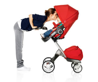 I'm Stokke-ed about this new Stokke Xplory Stroller