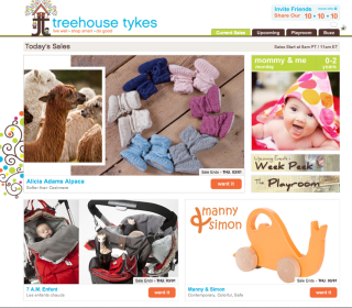 Treehouse Tykes – A new flash sale site that stands out from the rest