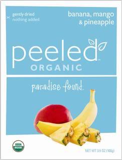Peeled organic fruit snacks – Paradise found.