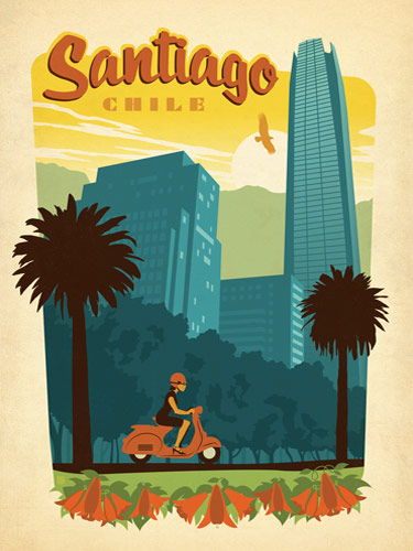 Fab vintage-style posters to feed your travel fantasies