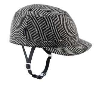 A bike helmet so cool, we can't keep it under our hat… or can we?