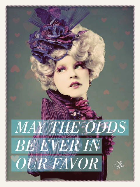Hunger Games Valentines: May the odds be ever in our favor