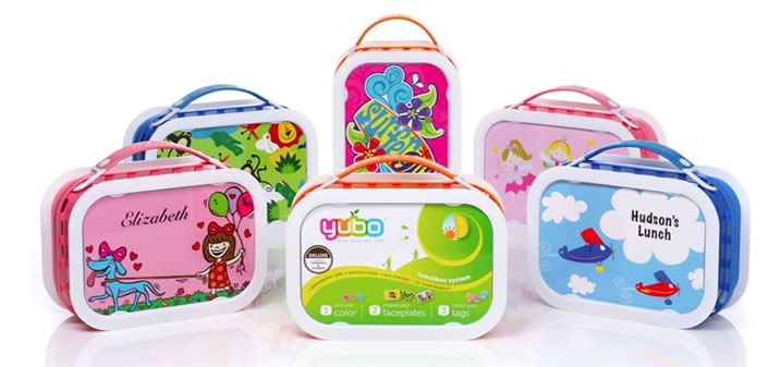 Yubo – The BPA free lunchbox that practically packs itself
