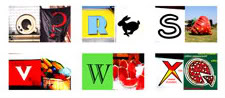 The coolest ABC magnets in the preschool