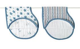 Aden & Anais Burpy bibs – It's a bib! It's a burp cloth! It's both!