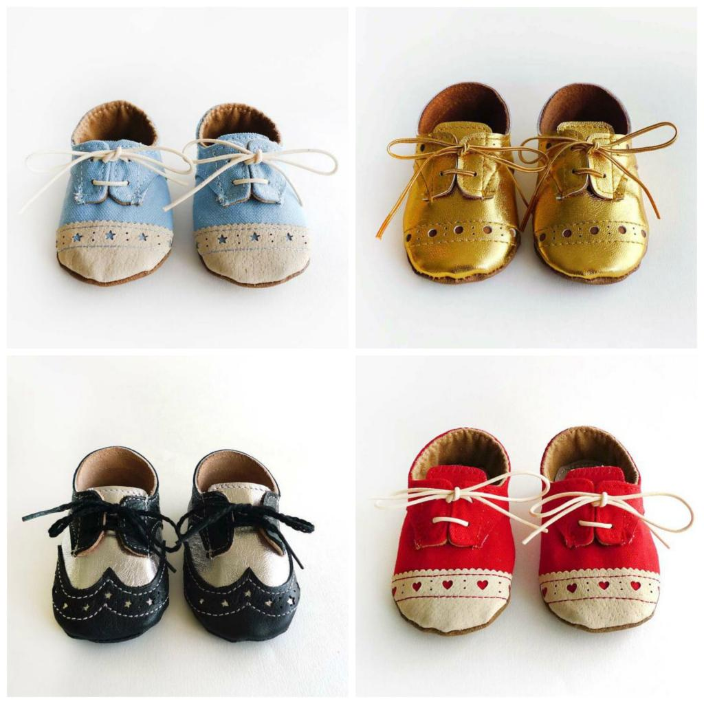 Snazzy handcrafted baby shoes that really steal the show