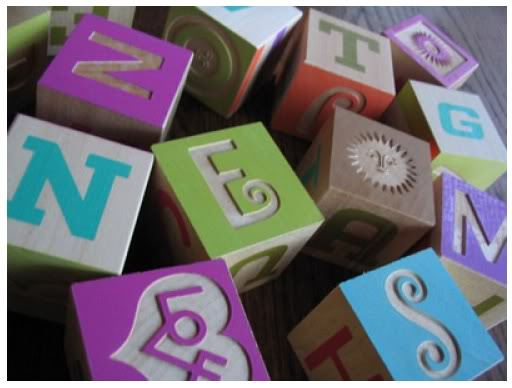 A is for Alexander Girard – Alphabet blocks for you mid-century design freaks
