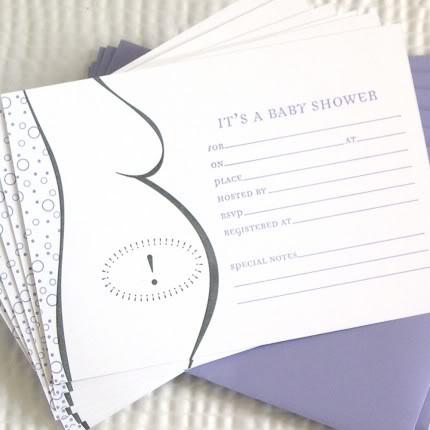 Shower Invites That Demand RSVPs