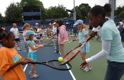 Arthur Ashe Kids Day at the US Open – Definitely not just for kids.