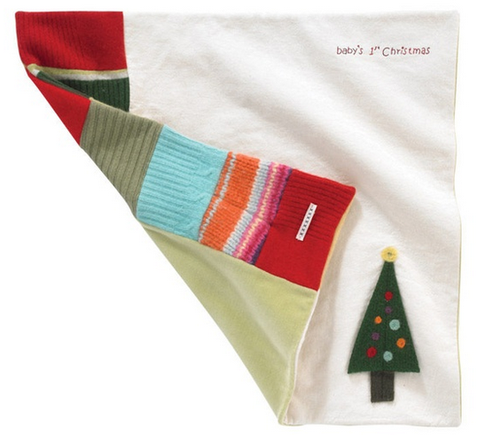 A first Christmas gift for baby that you'll want to snuggle as much as she does