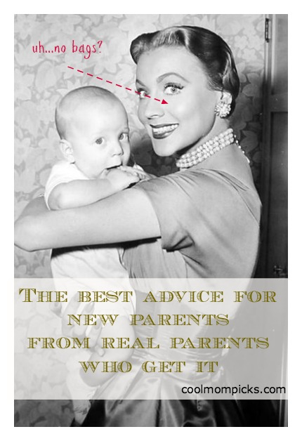 The best advice for new parents from parents who get it: You!