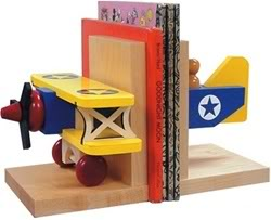 Flying the Friendly Bookshelves