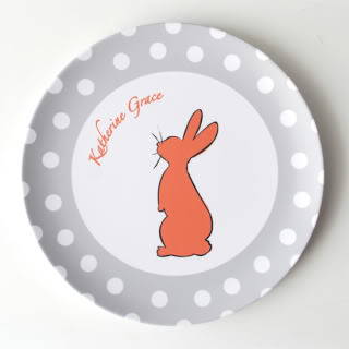 Nothing says spring like a bunny on your plate.