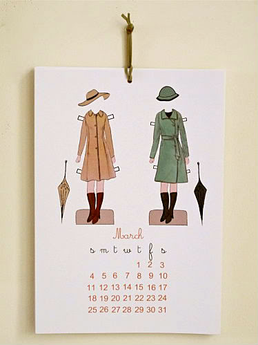A printable 2012 calendar that does more than track the days