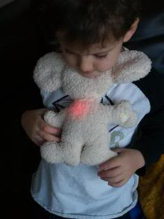 The night light gets a soft, cuddly makeover