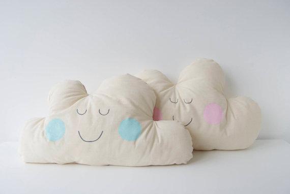 Sleeping on a cloud: heavenly handmade pillows