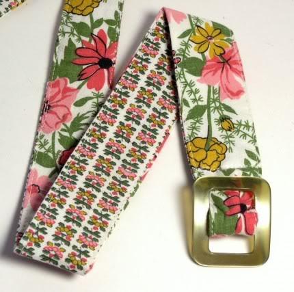 Vintage Fabrics Go to Waist