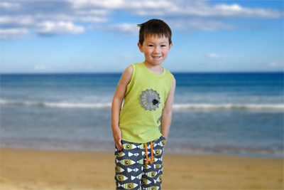 The coolest summer clothes for boys come from the land down under