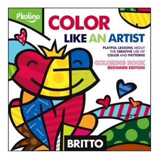 Color like an artist. Romero Britto, to be specific.